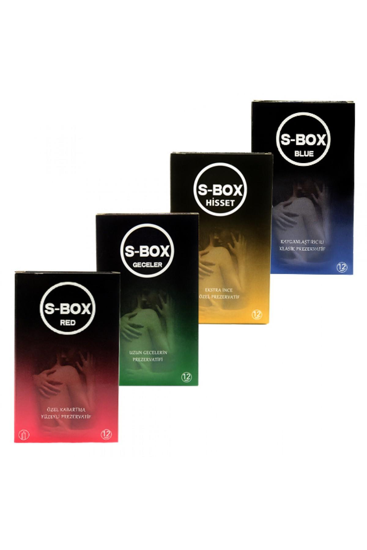 S-Box Condom Karma Paket 48 Adet Prezervatif